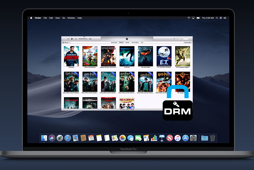 iTunes movie DRM removal Mojave
