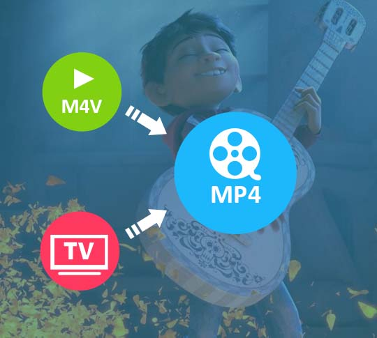 convert iTunes DRM video to MP4