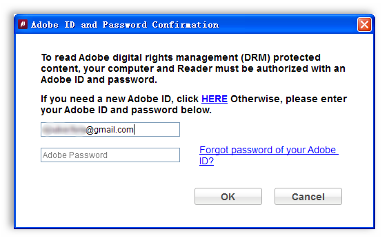 login Adobe ID