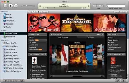 Recording iTunes Movie Rentals and to Keep them forever