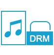 unlock DRM audio