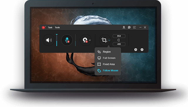 Screen Recorder - Capture Screen Video on Mac and Windows